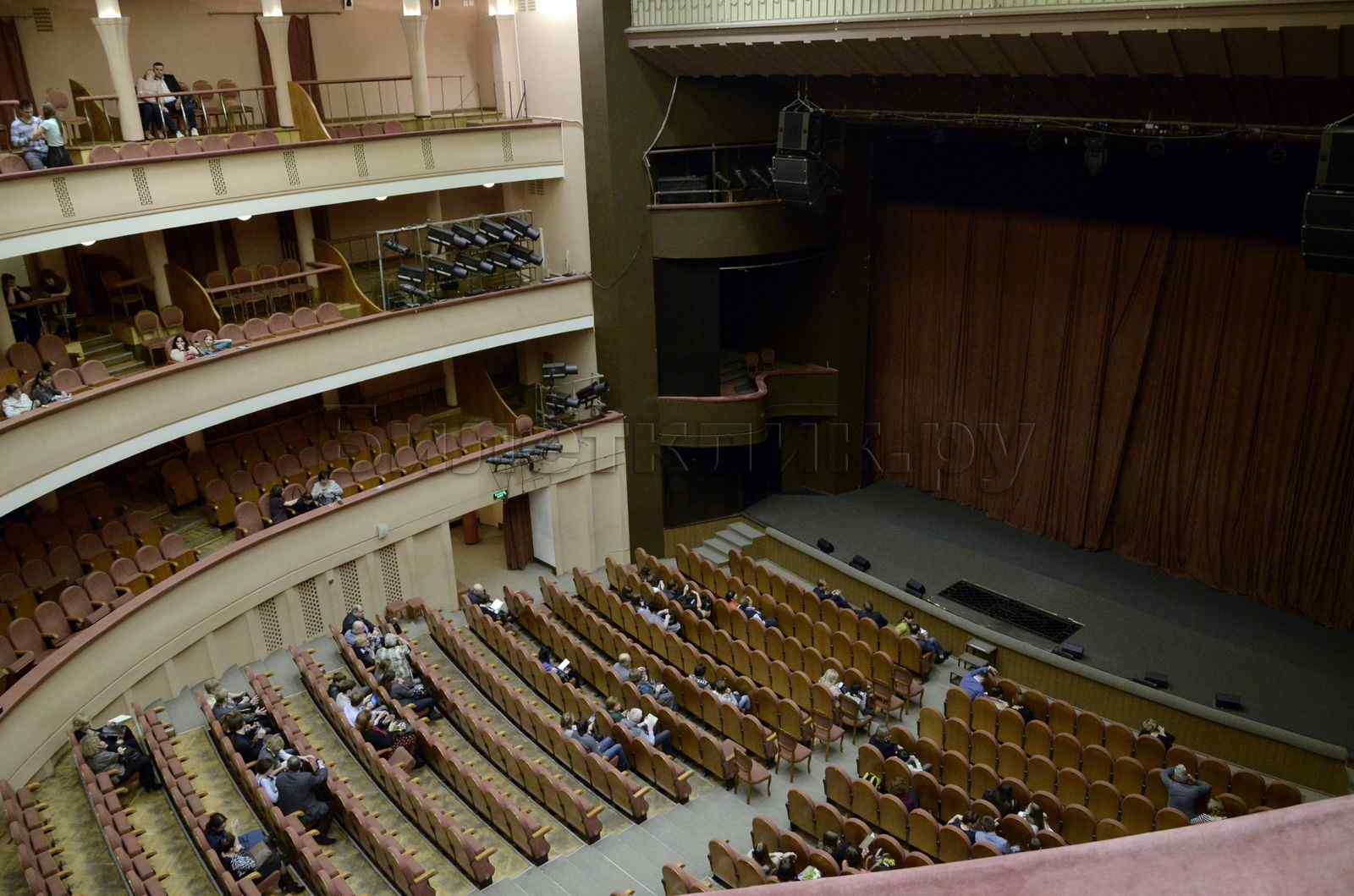 Театр моссовета схема