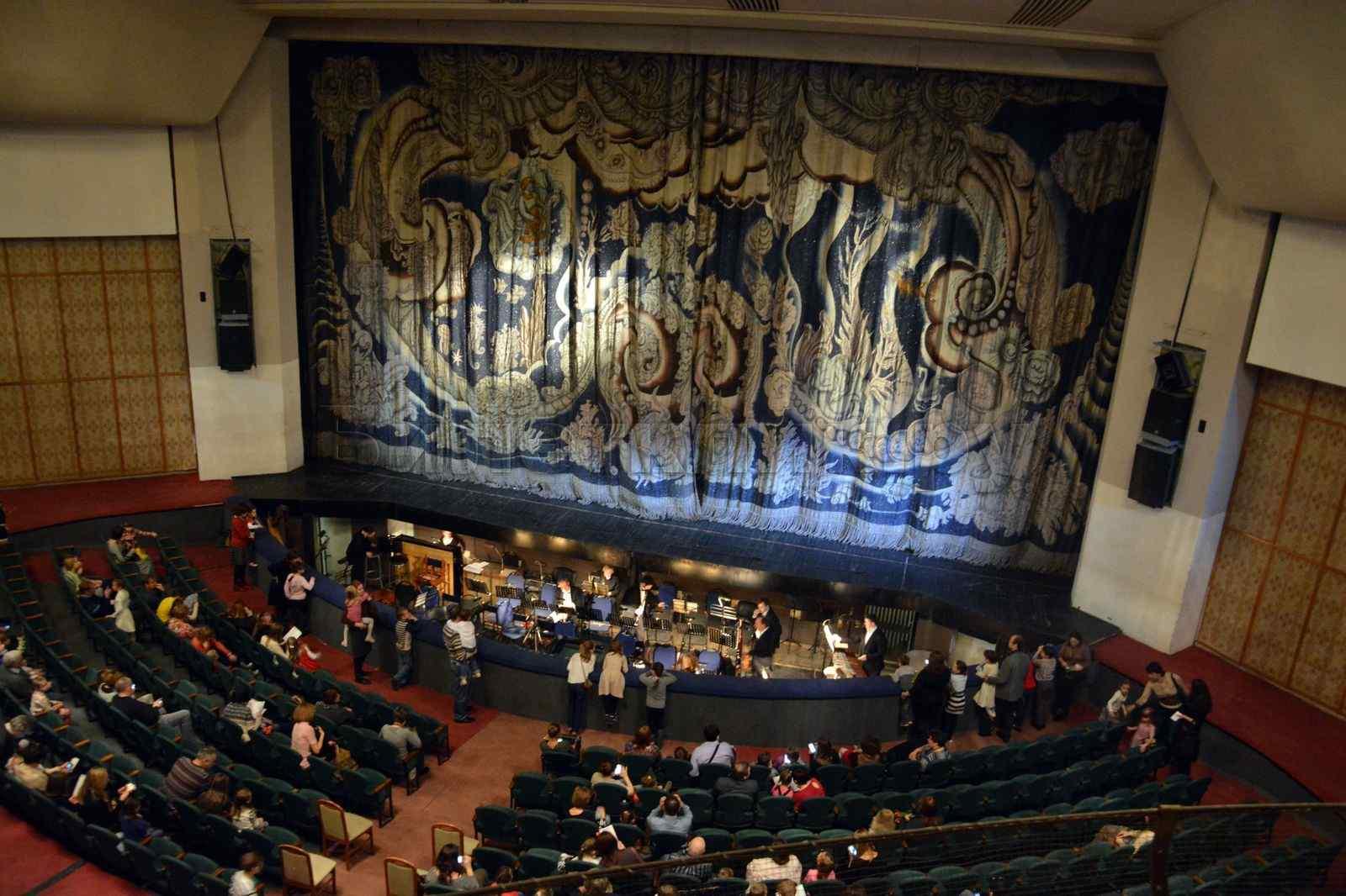 балет золотой петушок в театре натальи сац схема зала