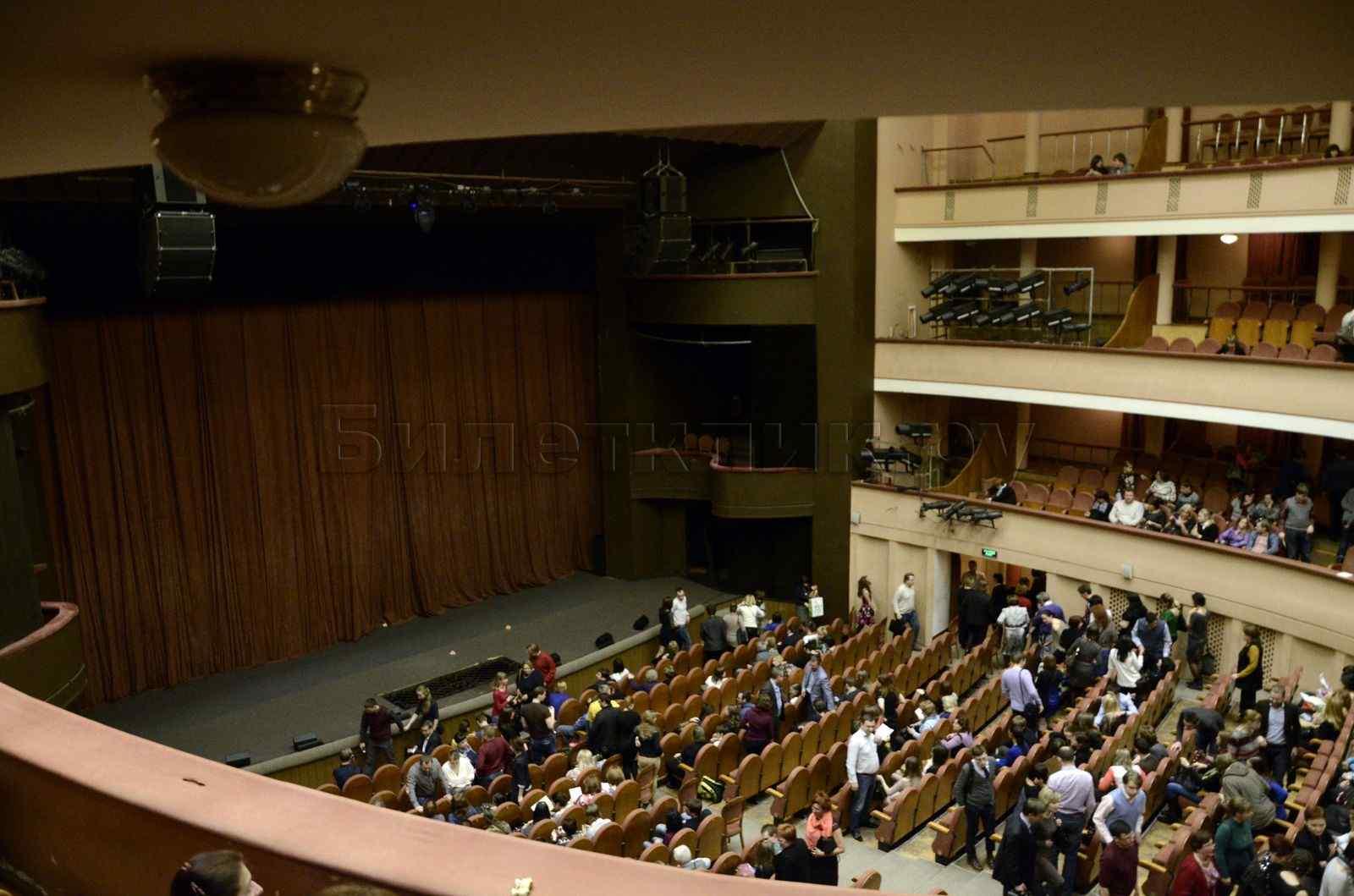 Театр им моссовета схема зала фото
