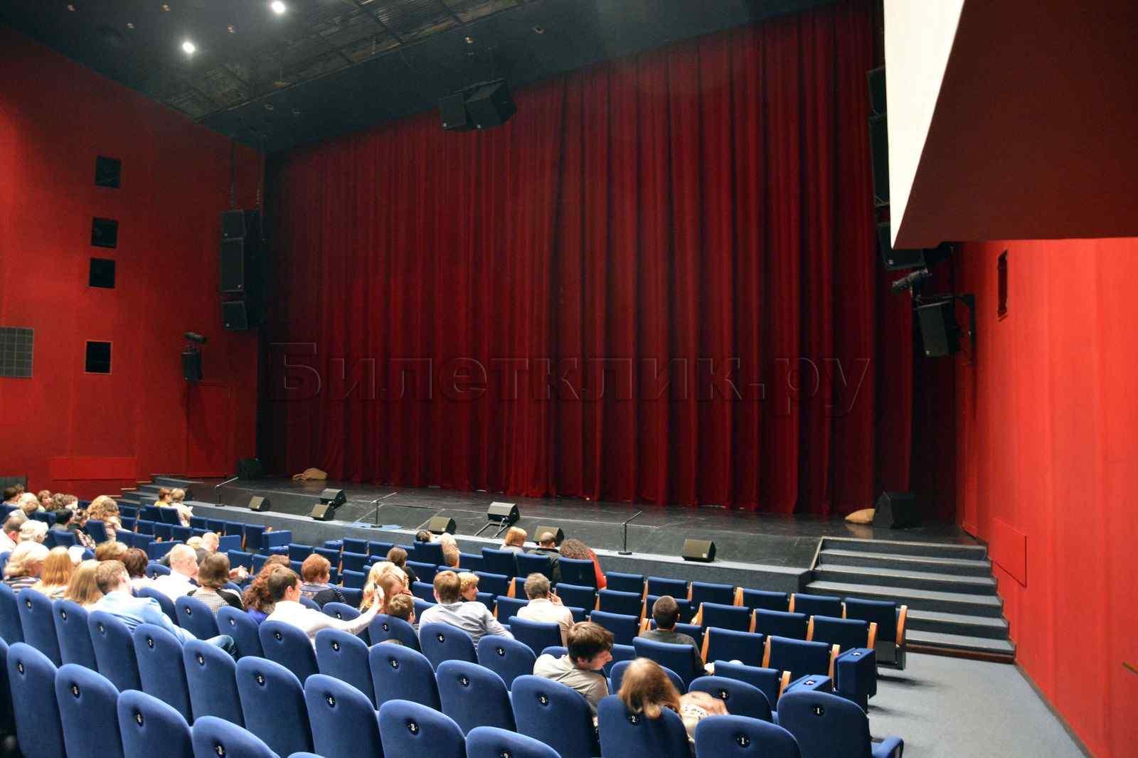 Схема зала терезы дуровой театриум